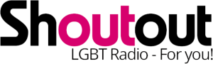 Shout Out LGBT Radio Logo
